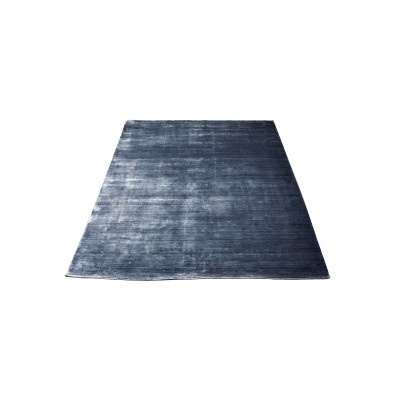 Bambou Rug steel black