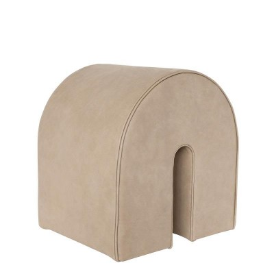 Curved pouf