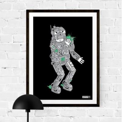 """Affiche """"Robot"""""""