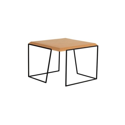 Table Basse Liège Noire