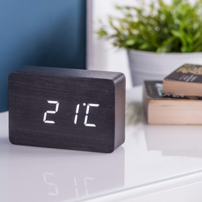 bloc clock Black