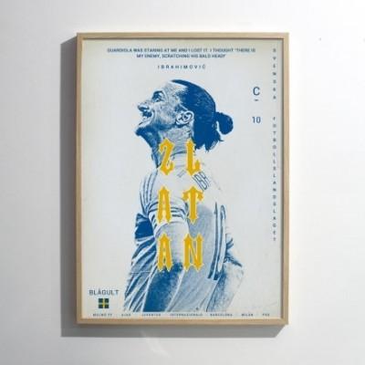 """Illustration """"Zlatan"""""""