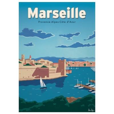 """""""Marseille"""" Illustration"""