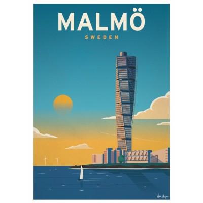 """""""Malmö"""" Illustration"""
