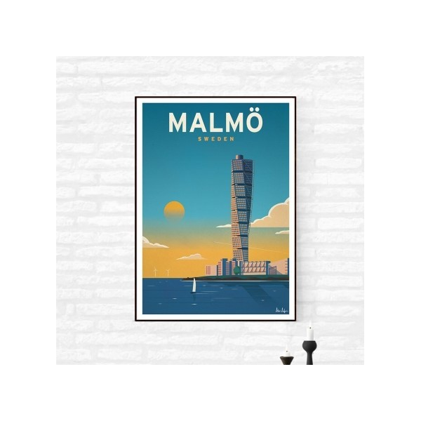 """Illustration """"Malmö"""""""