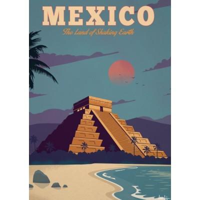 """Mexico"" Illustration"