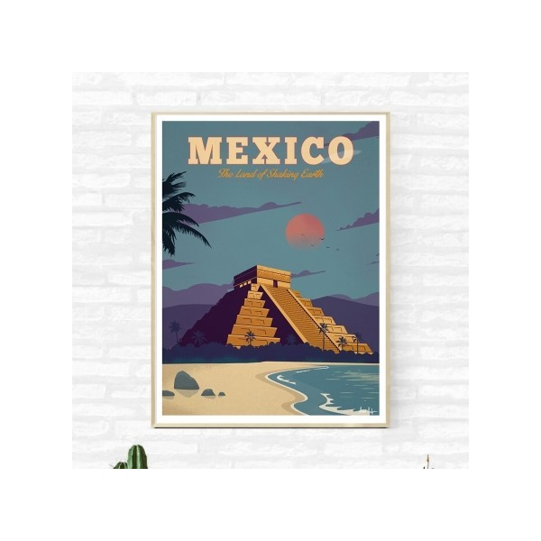"Illustration ""Mexico"""