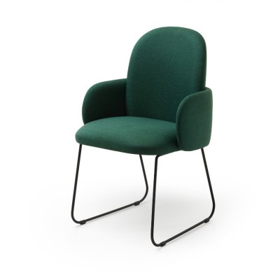 Fauteuil de Table Vert