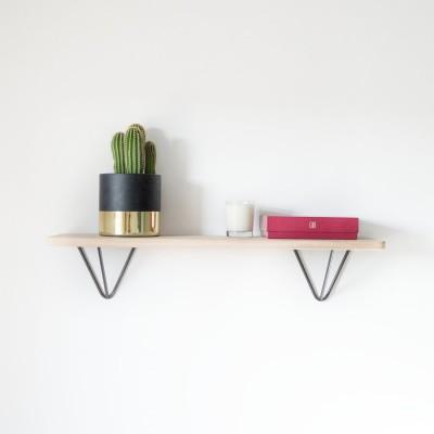 DIY Black shelf