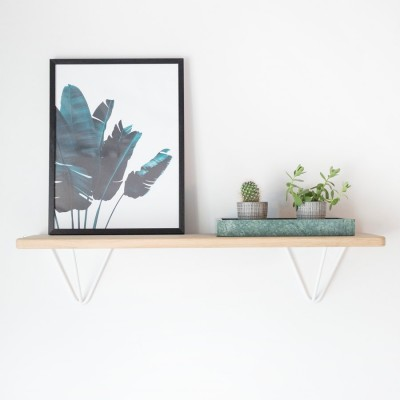 DIY White shelf