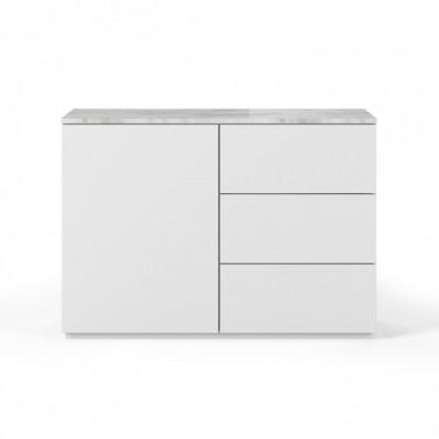 Buffet Cube 120 Marbre