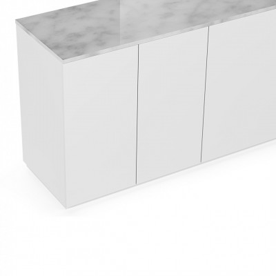 Buffet Cube 200 Marbre