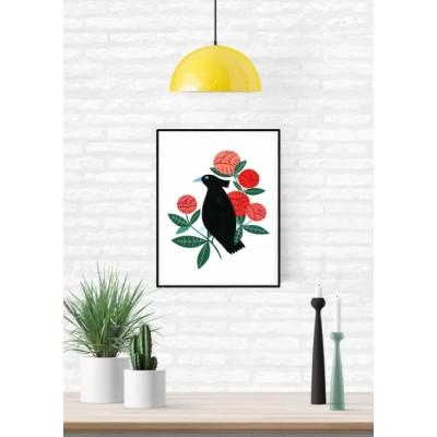 """Affiche """"Black Bird"""""""