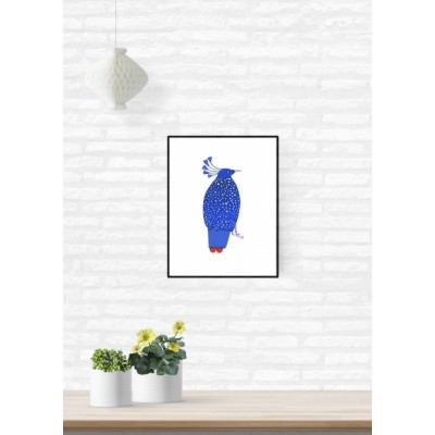 """Affiche """"Blue Bird"""""""