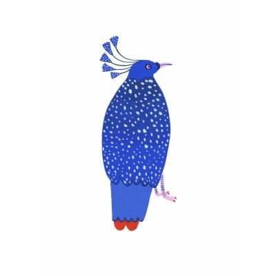 """Blue Bird"" print"