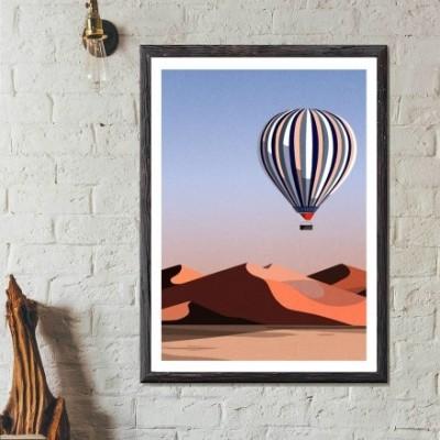 """Affiche """"Sahara"""""""