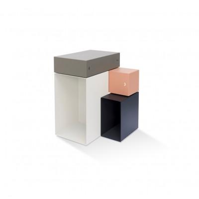 Side Table Kase nude & Greige