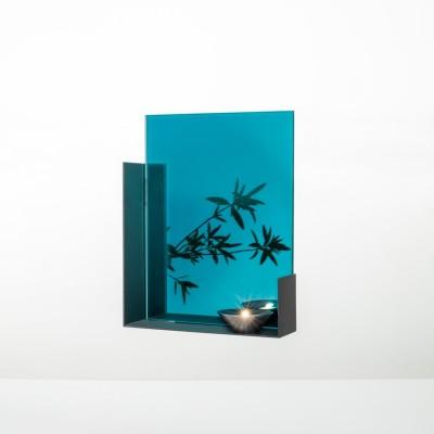 Miroir Mood bleu