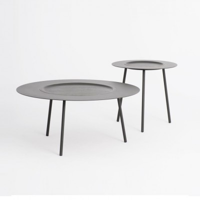 Grey Woodplate coffee table