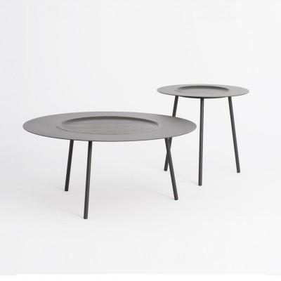 Table à Plateau Grise