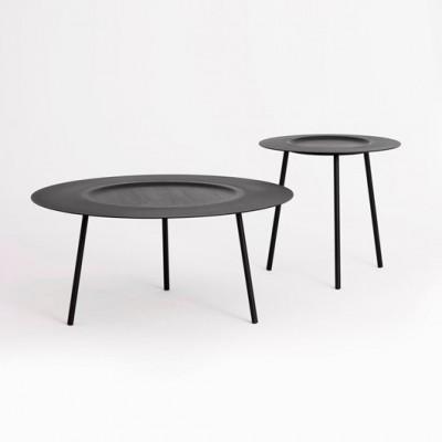 Table à Plateau Noire