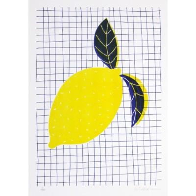 """Affiche """"Lemon"""""""