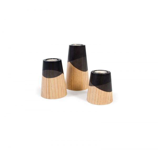 Set of Three Mini Etna Black