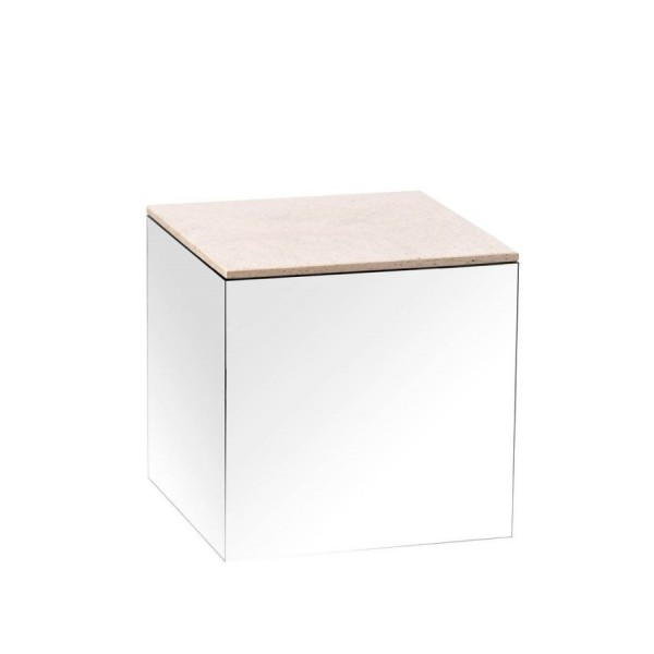 Little Mirror table Moka