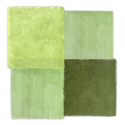 Green over Rug