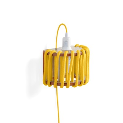 Yellow macaron Wall Light