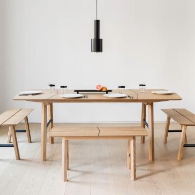 Table à Manger Frêne Clair