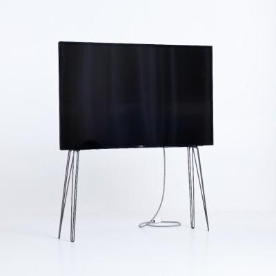 Support TV Métal brut