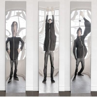 Miroir déformant Étroit