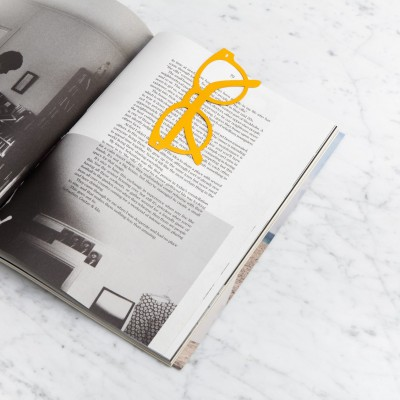 glasses bookmark