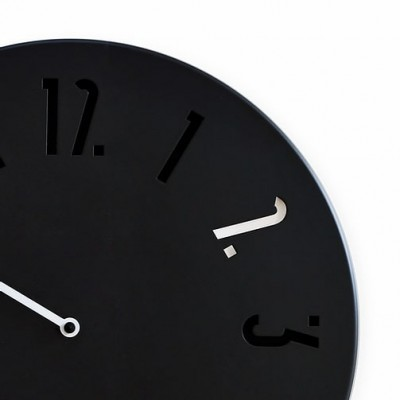 Horloge Maline noire