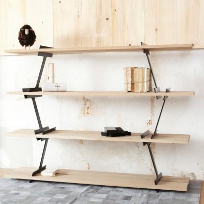 Black LUMBERJACK shelves