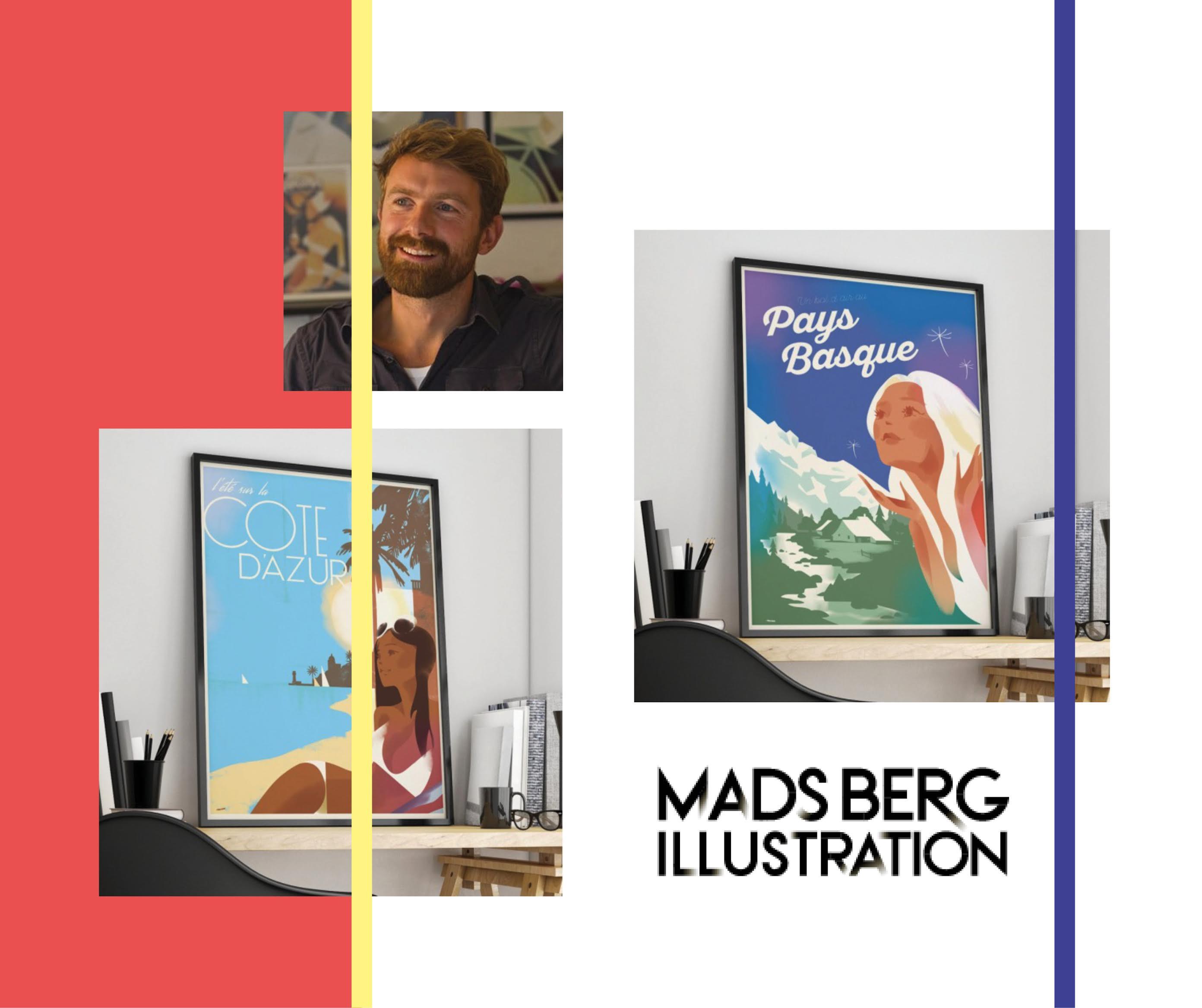 Un danois qui aime la France : Mads Berg !