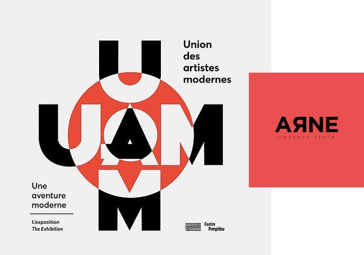 Un tour par l'Expo UAM à Pompidou …