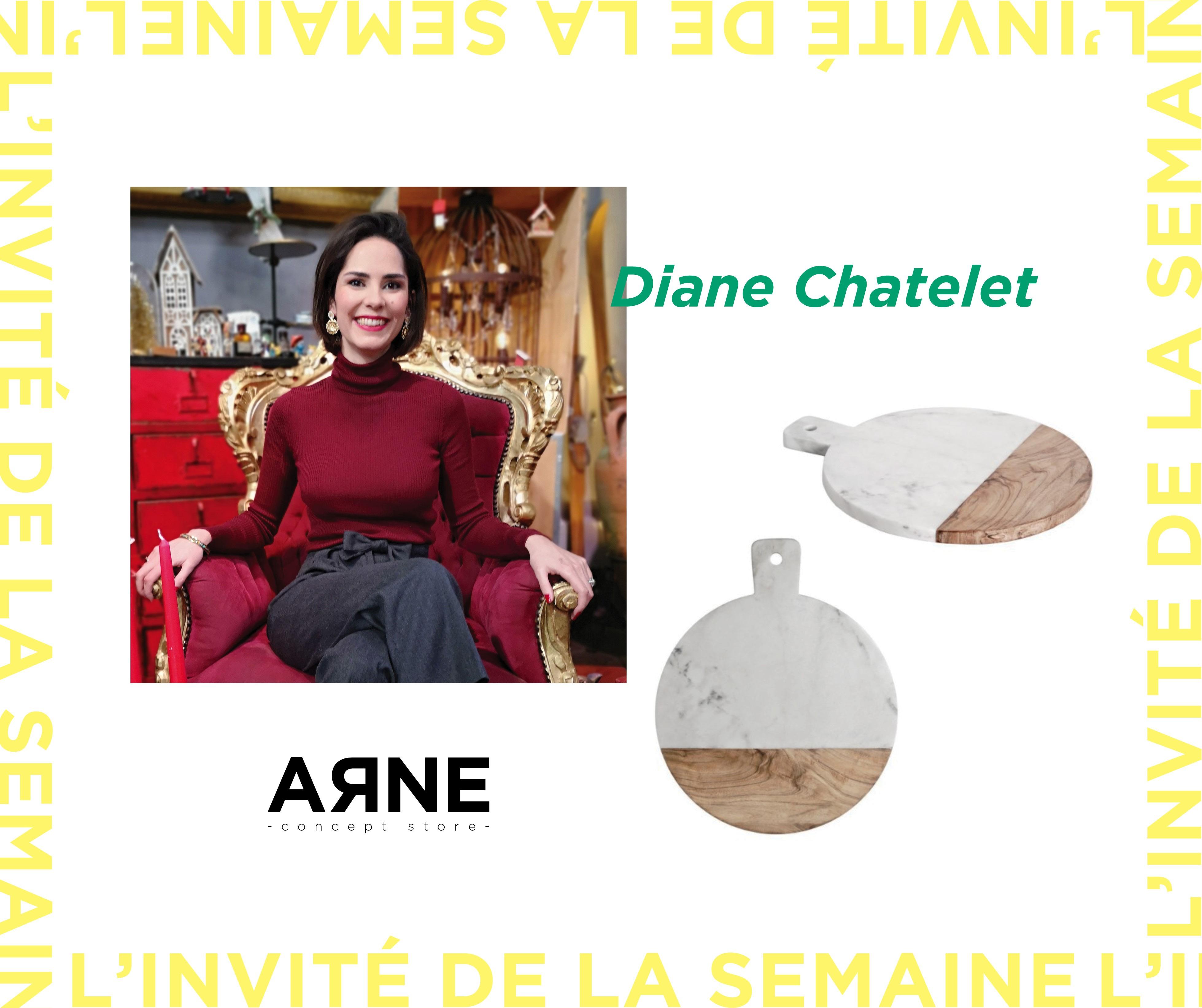 Une galeriste chez ARNE : Diane CHATELET !